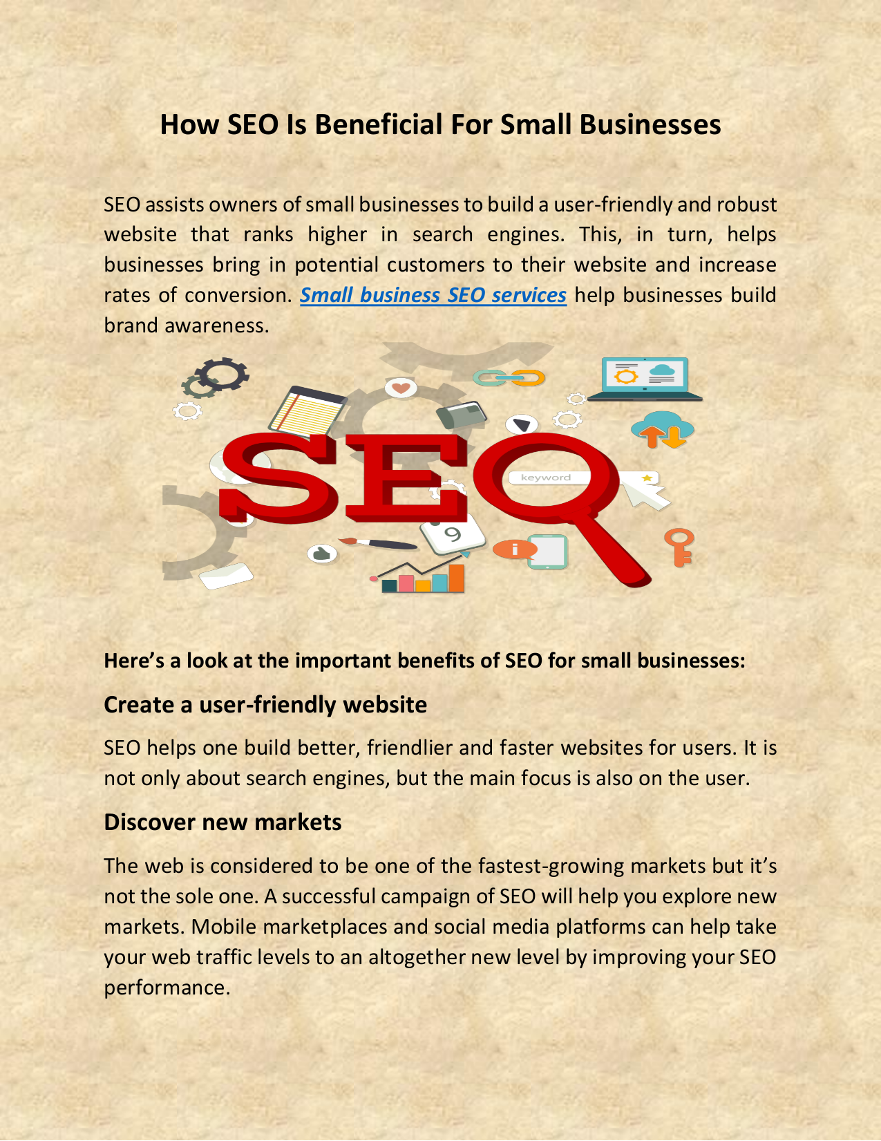 How SEO Is Beneficial For Small Businesses.pdf