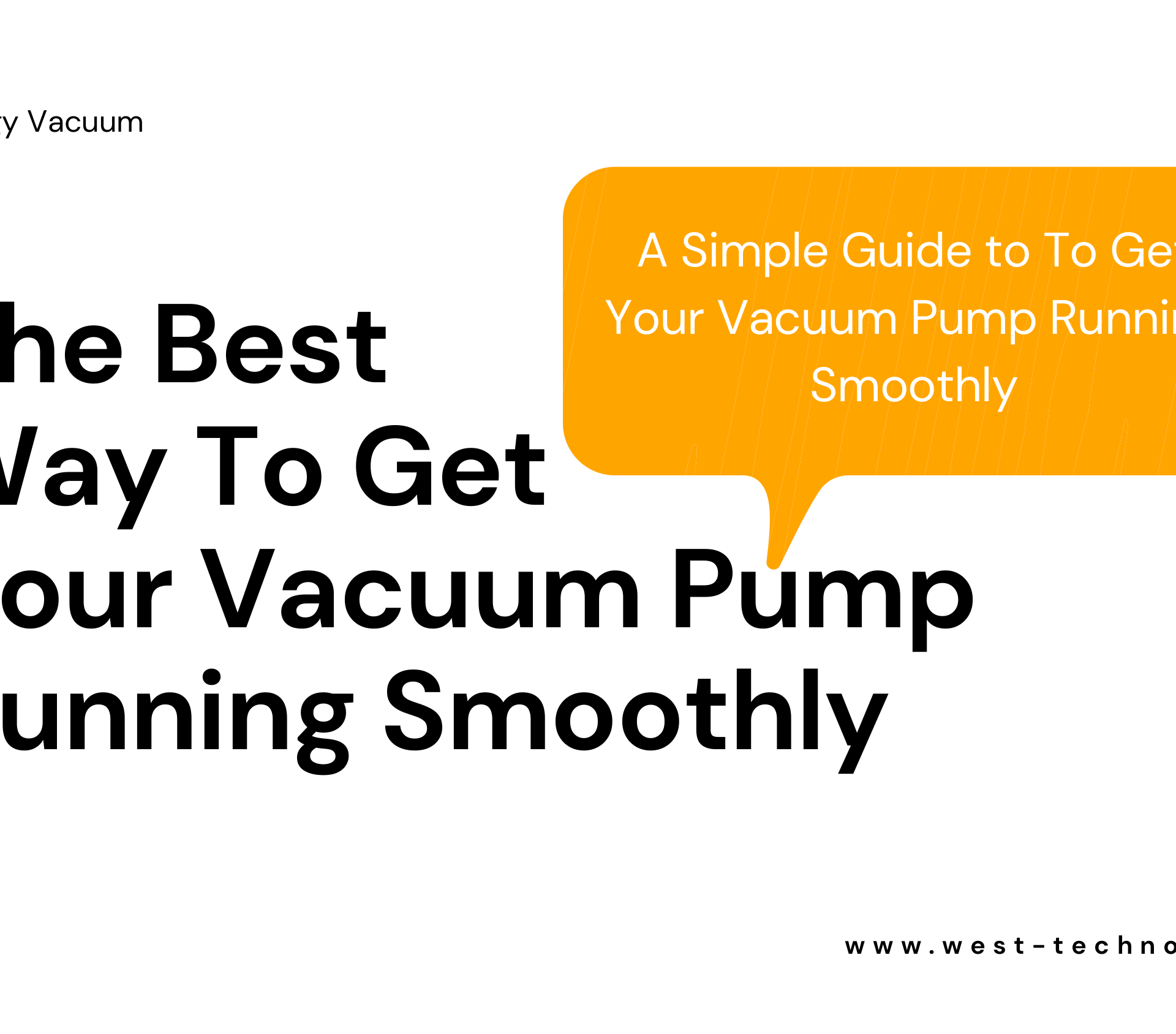 The Best Way To Get Your Vacuum Pump Running Smoothly.pdf